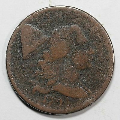 1794 S-56 R-3 Head of'94 Liberty Cap Large Cent Coin 1c