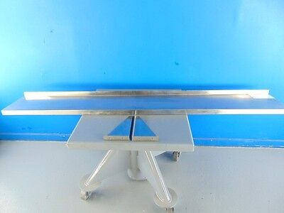 """81""""X 12"""" Stainless Steel Shelf/Tray Serving Line"""