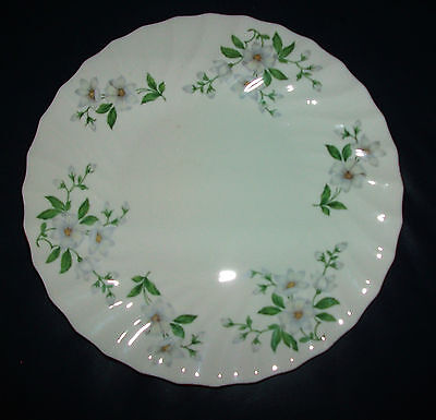 ��Crown Staffordshire :  Bone China : Plate : Clematis