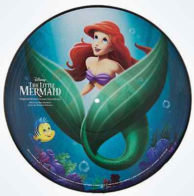 Disney Parks Songs from The Little Mermaid Princess Ariel Vinyl Record