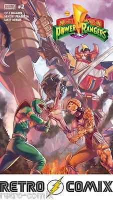 Boom! Mighty Morphin Power Rangers #2 Cover A New/unread Bagged & Boarded