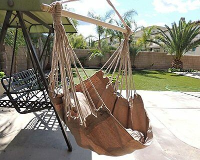Hammock Chair Hanging Rope Porch Swing