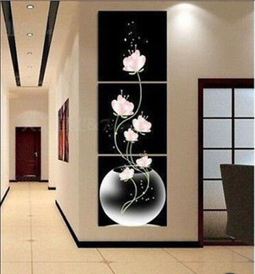 Exquisite 100% handmade Oil Painting wall decorate- (no framed) 3pc