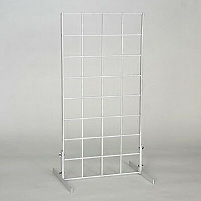New Retails White Gridwall Countertop Displays & Countertop Grid Unit 1'wx2'h