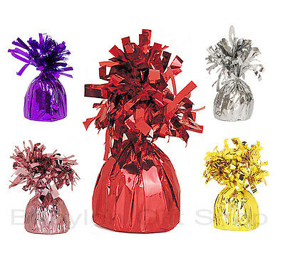 Foil Helium Balloon Table Weights - Many Colours - Party Supplies - Tassle UK