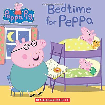 Peppa Pig Book Bedtime Family Animals Sleep Young Adults Children Gift Kids New