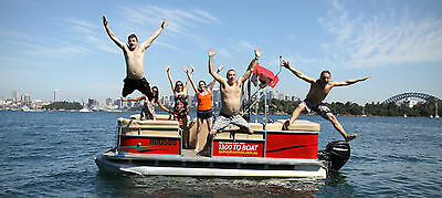 Sydney Self Drive Boat hire (No Licence Rq) located 10 min drive from sydney cbd