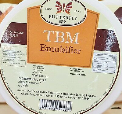 2.82oz Butterfly TBM Emulsifier for Cake Batter Dough Indonesia