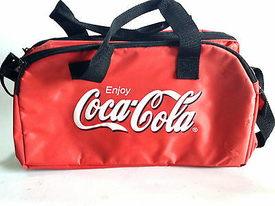 Coca Cola Soft Sides Cooler Bag For Cans Picnic Beach Advertising Promo Cyprus
