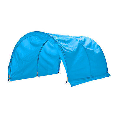 IKEA KURA, CHILDREN'S BED TENT Turquoise - A bed canopy gives privacy...
