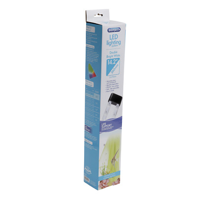 Interpet Aquarium LED Bright White Double Lighting System - 36cm