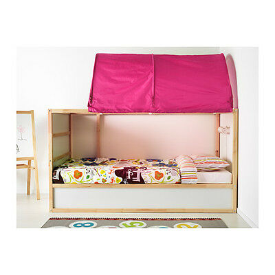 IKEA KURA, CHILDREN'S BED TENT Pink - A bed canopy gives privacy...