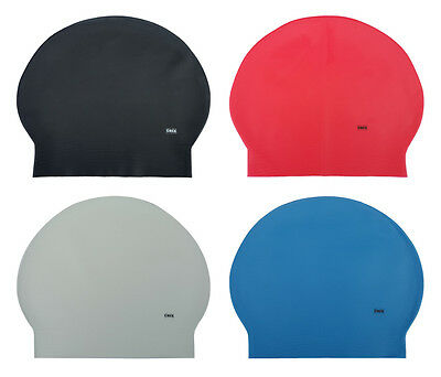 CHEX Latex Plain Adults Lightweight Stretchy Pliable Soft Swimming Swim Hat Cap