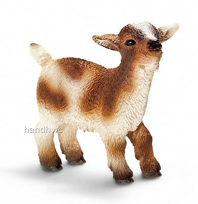 Schleich 13716 Dwarf Goat Bleating Model Farm Animal Toy Figurine - NIP