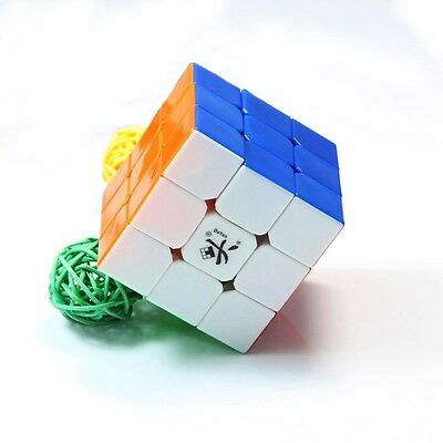 Dayan V5 ZhanChi 3x3x3 Speed Cube Magic Puzzle Stickerless Twist 3x3 Puzzles Hot