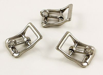 "10 x 5/8""LOCKABLE BUCKLES NICKEL PLATED"