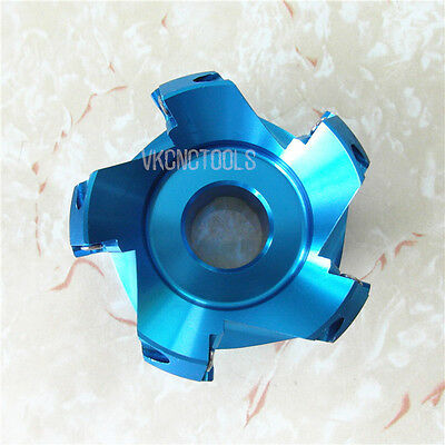 D63mm 45Deg Light Aluminum Alloy Face Mill Cutter for SEHT1204//SEHT43AFFN Insert