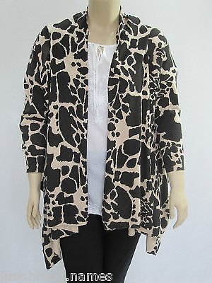 Autograph Ladies Open Front Waterfall Drape Cardigan sizes Small Large XL