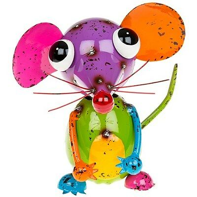 Beautiful Cheeky Mouse Ornament Sculpture ~ From The Jazzy Junk Collection
