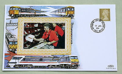 TRAVELLING POST OFFICE LAST EVER 2003 BENHAM RAILWAY COVER No.170 TPO LONDON HS