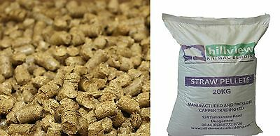 20Kg Straw Pellets| Poultry, Rabbits, Reptiles| Bio Degradable|Super Absorbency