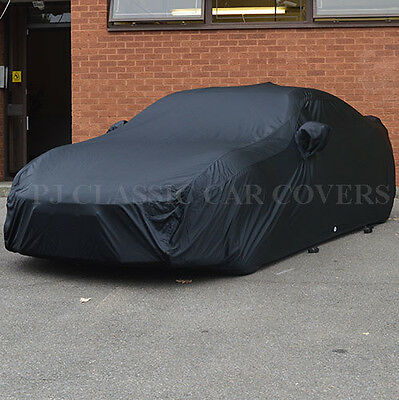 Luxury Satin with Fleece Lining Indoor Car Cover for Saab 900 Cabrio