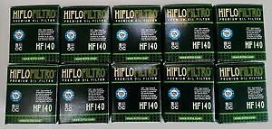 10 x Hiflo Oil Filter HF140 for Yamaha WR250 F WRF250 WR250F 2009 - 2016 NEW