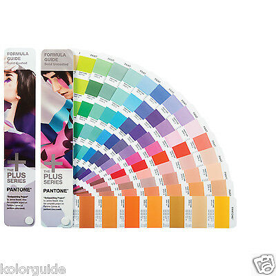 Pantone Formula Guide Solid Coated & Solid Uncoated GP1601N year 2016 112 +color