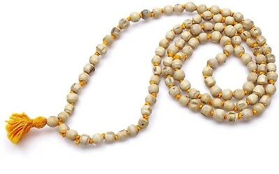 Tulsi(Holy Basil)Mala 108+1 Beads knotted 100% Natural & Original RELIGIOUS EDH