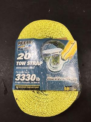 Reese Carry Power 94263 20' Tow Strap 10000 lb Break strength (*551)