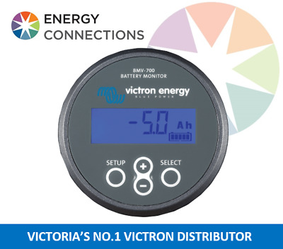 Victron Battery Monitor BMV 700 complete kit allows monitoring of Batteries