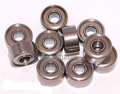 1-100Pcs 693ZZ Miniature Bearing Metal Seal Shielded Code 3x8x4mm Ball Bearings