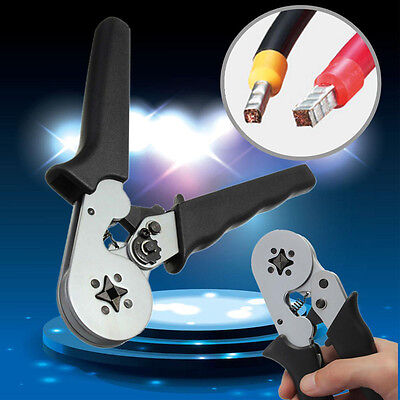 Terminal Sleeve-type Crimping Tool Bootlace Ferrule Crimper Wire Plier 0.08-6mm²