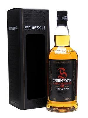 Springbank 12yo Cask Strength Single Malt Whisky 700ml
