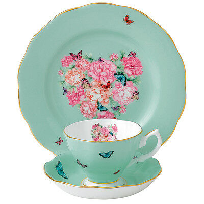 NEW Royal Albert Miranda Kerr Blessings Teacup, Saucer & Plate