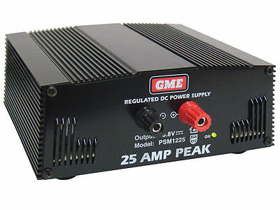 GME Regulated 240 Volt 13.8 Volt Switch Mode Power Supply 25 Amp Peak