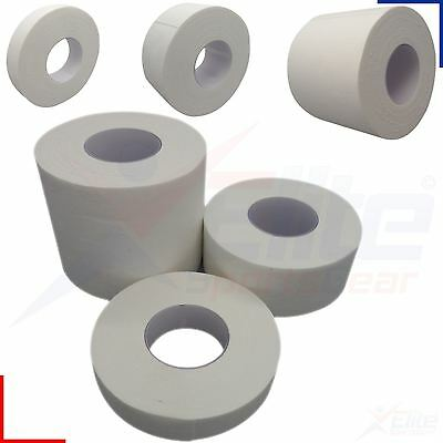 Qualicare Zinc Oxide Tape White Waterproof Medical Sports NHS Adhesive 10m