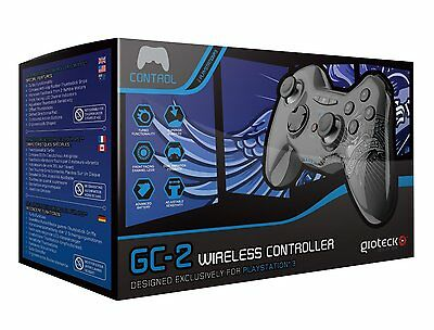 Gioteck GC-2 Wireless Controller: Street King Edition (PS3) Bluetooth Controller