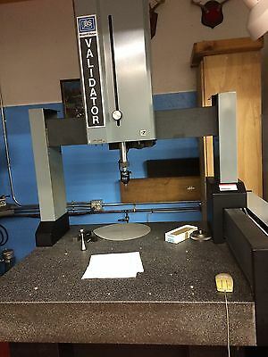 Brown & Sharpe Validator Cmm With Mip Renishaw Adjustable Head