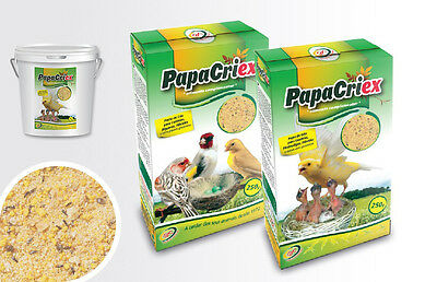 Pet Bird Diet Dry Food with Eggs for Baby Canary Goldfinches & Granivorous Bird