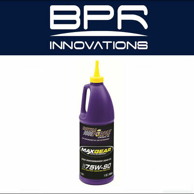 Royal Purple Gear Oil Max-Gear Synthetic 75W90 Quart Each 01300