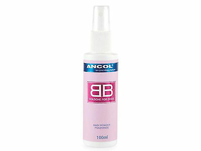 Ancol BB Dog Cologne 100ml Spray Bottle Perfume For Dogs