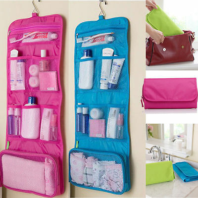 Large Travel Organiser Toiletries Hanging Wash Bag Toiletry Cosmetic Makeup Bag