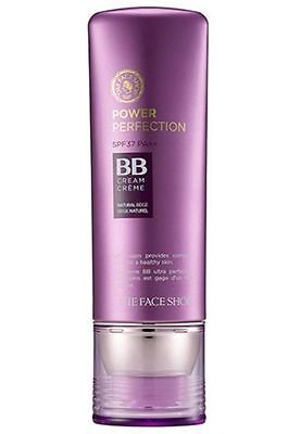 THE FACE SHOP Power Perfection BB Cream #V203 Natural Beige Color - 40g