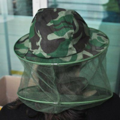 Mosquito Bug Bee Insect Repellent Mesh Net Hat/Cap Head Face Protect Fishing LC