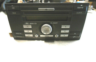 mk2 ford focus c s max 6000 cd stereo cd radio unit. Black Bedroom Furniture Sets. Home Design Ideas