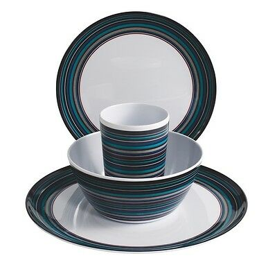 Outwell Breeze Melamine Camping Set 2 Person - Suitable for Dishwashers -