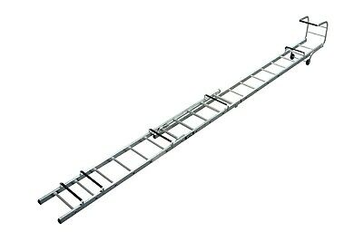 Lyte Alu Trade Roof Ladder - Double Section - 13+11 Rungs - 3.44m-5.64m | TRL235