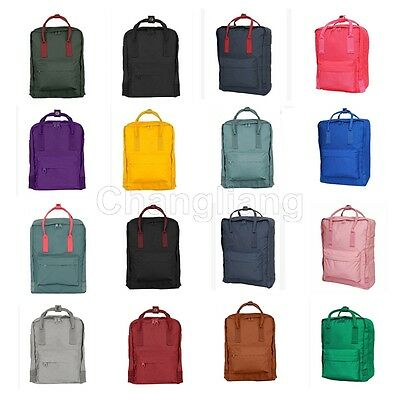 New Backpack Tote Outdoor Daypack Canvas School Bag Classic Waterproof Fashion
