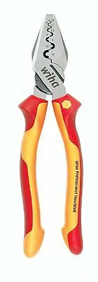 Wiha Insulated Crimp Tool Crimps Standard And Insulated Lugs & Terminals/32841